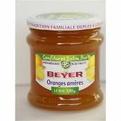 Beyer confiture bio extra oranges amères 370g