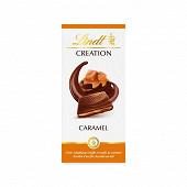 Lindt création lait caramel 150g