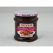 Beyer confiture extra 4 fruits rouges 370g
