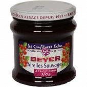 Beyer confiture airelles 116g