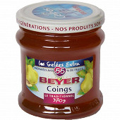Beyer confiture coings 370g