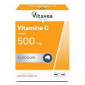 Vitavea vitamine c500 à croquer sans sucre