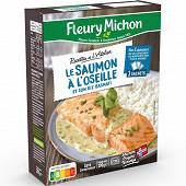 Fleury Michon saumon à l'oseille riz 290g