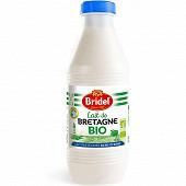 Bridel bio lait pasteurisé demi-écrémé 1l