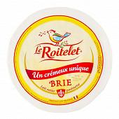 Brie au lait pasteurisé Le Roitelet