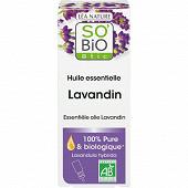 So Bio huile essentielle lavande 100% bio 15ml