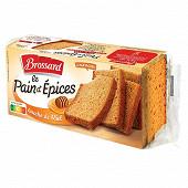 Brossard mon pain d'épices au miel 350g