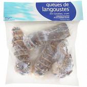 Queues de langoustes crues des Caraïbes 475g