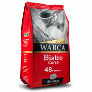 Warca cafe corse 48 dosettes 336g