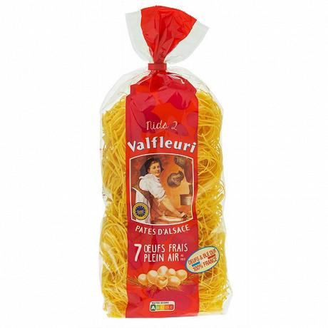 Valfleuri pâtes d'alsace Nids 2mm sachet 500g