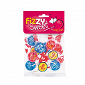 Fizzy sweet sucettes mdr 95g