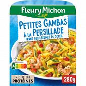 Fleury Michon Petites gambas Concassée de tomates et tagliatelles basilic 280g
