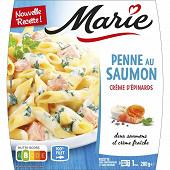 Marie penne au saumon et crème d'épinards 280g