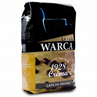Warca cafe en grains 1928 crema 500g
