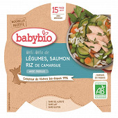 Babybio petit plat légume saumon  dès 15 mois 260g