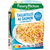 Fleury Michon Tagliatelles aux deux saumons et à la crème 280g
