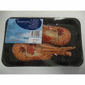 Somegel 2 demi langoustes des Caraïbes cuites 350g