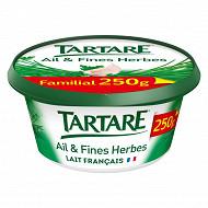 Tartare l'original ail et fines herbes pot familial 250 g
