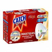 Catch diffuseur électrique mouches & moustiques réglable 45 nuits