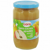 Cora purée de pommes sans sucres ajoutés 710gr