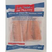La Table des Pêcheurs portions de filets de saumon rose du Pacifique 4x120g