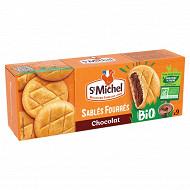 St michel sablés fourrés chocolat noisettes bio 135g
