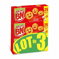 Bn mini bn fraise x3 525g