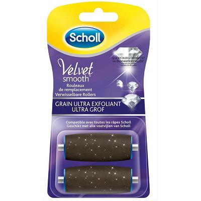 Scholl Scholl velvet rouleau ultra exfoliant x2