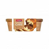 Alfapac moules a cake en papier x4