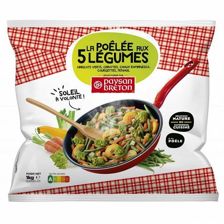 Paysan Breton la poellée aux 5 légumes 1kg