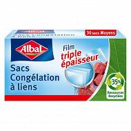 Albal sacs congélation lien mm - 3l x30
