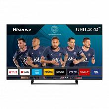 "Hisense Téléviseur smart tv 4k ultra hd hdr10+ 108cm - 43"" 43A7320F"