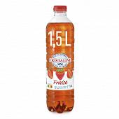 Cristaline au jus de fraise pet 1.5l