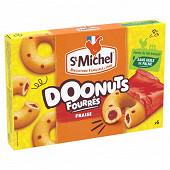 St michel donuts fourrés fraise 180g