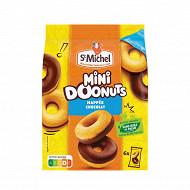 St michel mini doonuts nappés et pépites de chocolat 180g