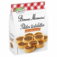 Bonne maman petites tartelettes chocolat caramel 250g