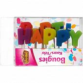 Vahiné bougies happy birthday