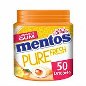 Mentos gum pure fresh tropical 100g