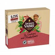 Jacques vabre café moulu je soutiens mes producteurs notes de Bresil 450g