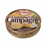 Président Camembert de campagne 250g 22%mg