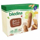 Blédina blédiscuit croissance biscuits céréaliers au chocolat 180g dès 12 mois