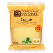 Patrimoine gourmand comté aop affinage 10 mois 250 g