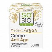 So bio etic creme anti age argan bio 50ml