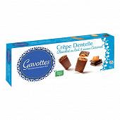 Gavottes crêpe dentelle au chocolat au lait et caramel 90g
