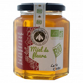 Côté miel miel de fleur biologique 375g