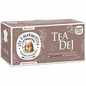 Les 2 Marmottes thé noir tea dej 45g