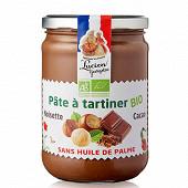 Les recettes cuites au chaudron pâte à tartiner aux noisettes et cacao bio 600g
