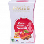 Pages infusion pomme cannelle miel x20s 30g