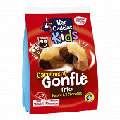 Sachet 12 gonflés trio 2 chocolat 330g
