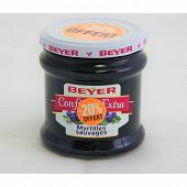 Beyer confiture extra myrtilles sauvages 370g+20% offert